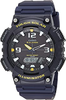 Casio Men's Black Dial Resin Analog Watch - AQ-S810W-2AVDF