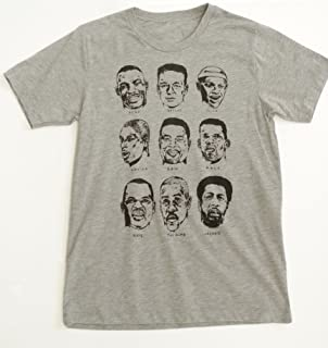 SEATTLE SUPERSONICS legends of the kingdome Hall of Fame basketball team t-shirt