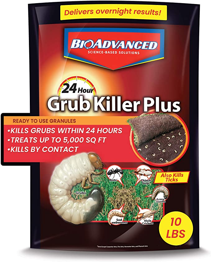 BIOADVANCED 700750B 24-Hour Grub Lawns Killer