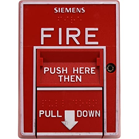 Siemens Cerberus Pyrotronics MSI-10B MSI-20B Manual Pull Station