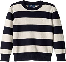 Striped Cotton Sweater (Little Kids/Big Kids)