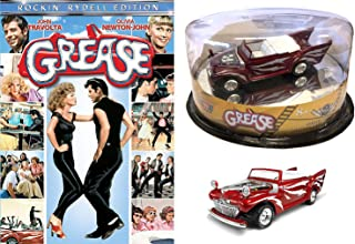 Greased Lightning Set - Grease DVD (Rockin' Rydell Edition) with Motor Max Reel Rise Limited Edition 1948 Ford1:43 Die Cast Car Bundle
