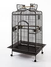 Parrot Macaw Cockatoo African Grey Bird Cage Q24-2822 Black Vein