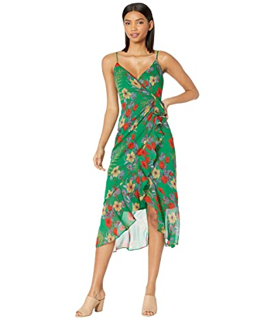 Bardot Elle Maxi Dress (Green Floral) Women