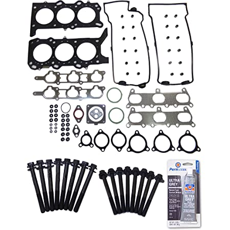 AUTOMUTO Engine head gasket sets bolts kit compatible with 2002-2006 Suzuki XL-7 2.7 L