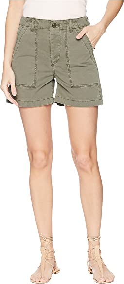 Joe's Jeans - Army Shorts in Earth Army
