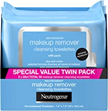 Neutrogena Makeup Removing Wipes، 25 Count، Twin Pack