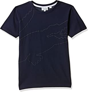 Lacoste Boy's Boy Outlined Croc Tee Shirt T-Shirts