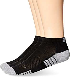 Under Armour Adult HeatGear Tech Low Cut Socks, 3-Pairs