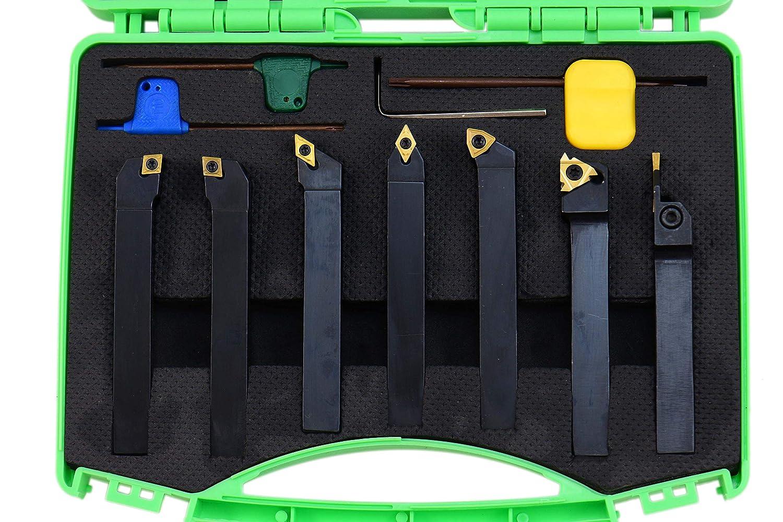 Shars 1//2 x 1//2 x 4 Turning Tool /& 3//8 x 5 Boring Bar 9pcs Set 404-2895 M