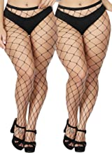 plus size fence net tights