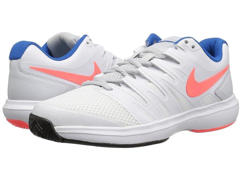 Nike Air Zoom Prestige (White/Hot Lava/Pure Platinum/Blue Nebula) Women
