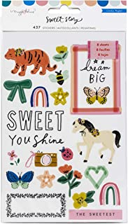 Crate Paper SWEET STORY STICKERS BOOK, One Size