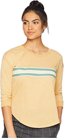 Day Stripe Crew Fleece Sweatshirt