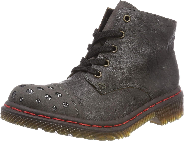 Rieker Women Ankle Boots Grey, (fumo Altsilver Antra) M8243-46