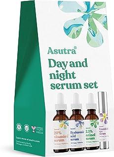 ASUTRA Day and Night Serum Set