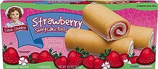 Little Debbie Strawberry Shortcake Rolls - 4 Pack
