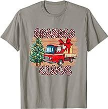 Merry Christmas Grandad Claus Funny Papa Gift For Men Women T-Shirt