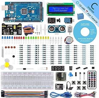 SunFounder Mega 2560 R3 Project Super Starter Kit with Mega 2560 Board Compatible with Arduino Mega 2560 UNO R3 Mega328 Nano,25 Tutorials Included