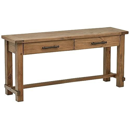 Amazon Brand – Stone & Beam Ferndale Rustic Console Table, 63 W, Sandstone