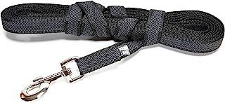 Julius-K9 218GM-S5 Color & Gray Correa de Perro del Estupendo-Apretón con Asa, 14 mm x 5 m, Negro y Gris