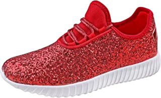 red glitter shoes - Shoes / Women