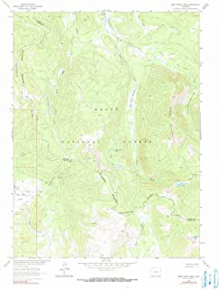 Colorado Maps - 1962 West Fork Lake, CO USGS Historical Topographic Map - Cartography Wall Art - 35in x 44in
