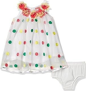 nauti nati Baby Girls' A-Line Midi Dress