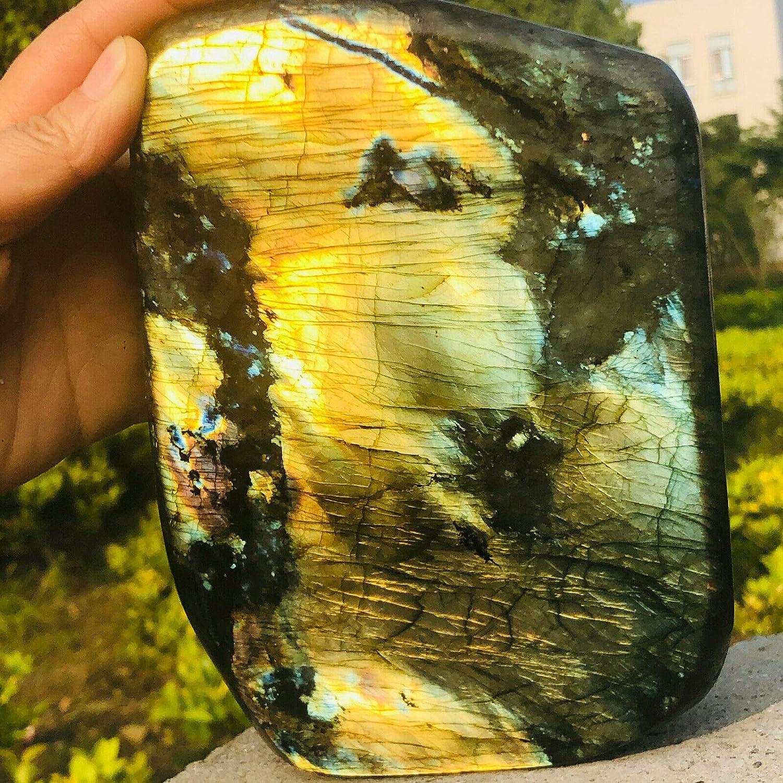5.74lb Super sale Natural Now on sale Gorgeous Labradorite Crystal Stone Quartz Specime
