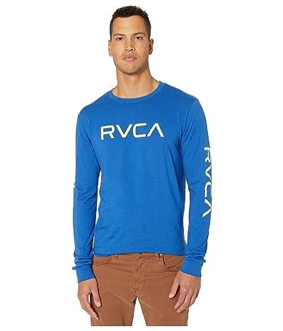RVCA Big RVCA Long Sleeve (Bright Blue) Men