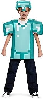 Armor Classic Minecraft Costume, Blue, Medium (7-8)