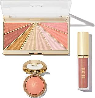 Milani Luminoso Get Lit Kit - Makeup Set Includes Highlighter Makeup, Blush Palette, Lip Plumper - Makeup For Women, Makeup for Girls