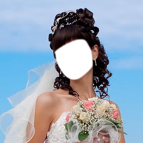 Vestido de Noiva montagem da foto