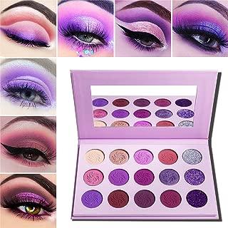 purple eyeshadow quad