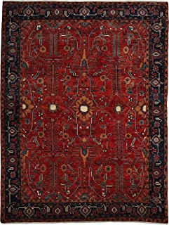 Solo Rugs Oriental Serapi Caledonia One of a Kind Hand Knotted Area Rug, 7' 10