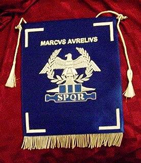 Roman Army Emperor Marcus Aurelius War Legion Banner Flag SPQR Rome Pax Eagle