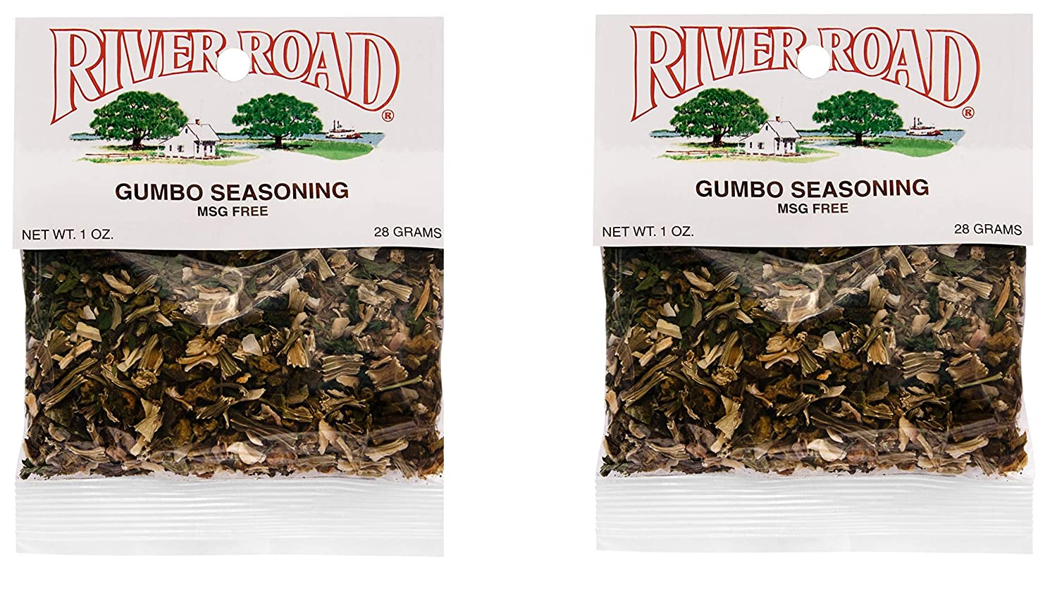 River Road Max 50% OFF No Cash special price Salt MSG Gumbo Packet 1 Ounce Seasoning Pack