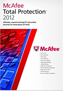 McAfee Total Protection 1 User 2012 [Old Version]