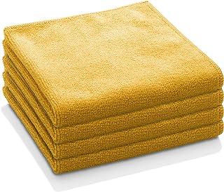E-Cloth General Purpose Microfiber Cleaning Cloth, Tangerine Orange, 4 Count
