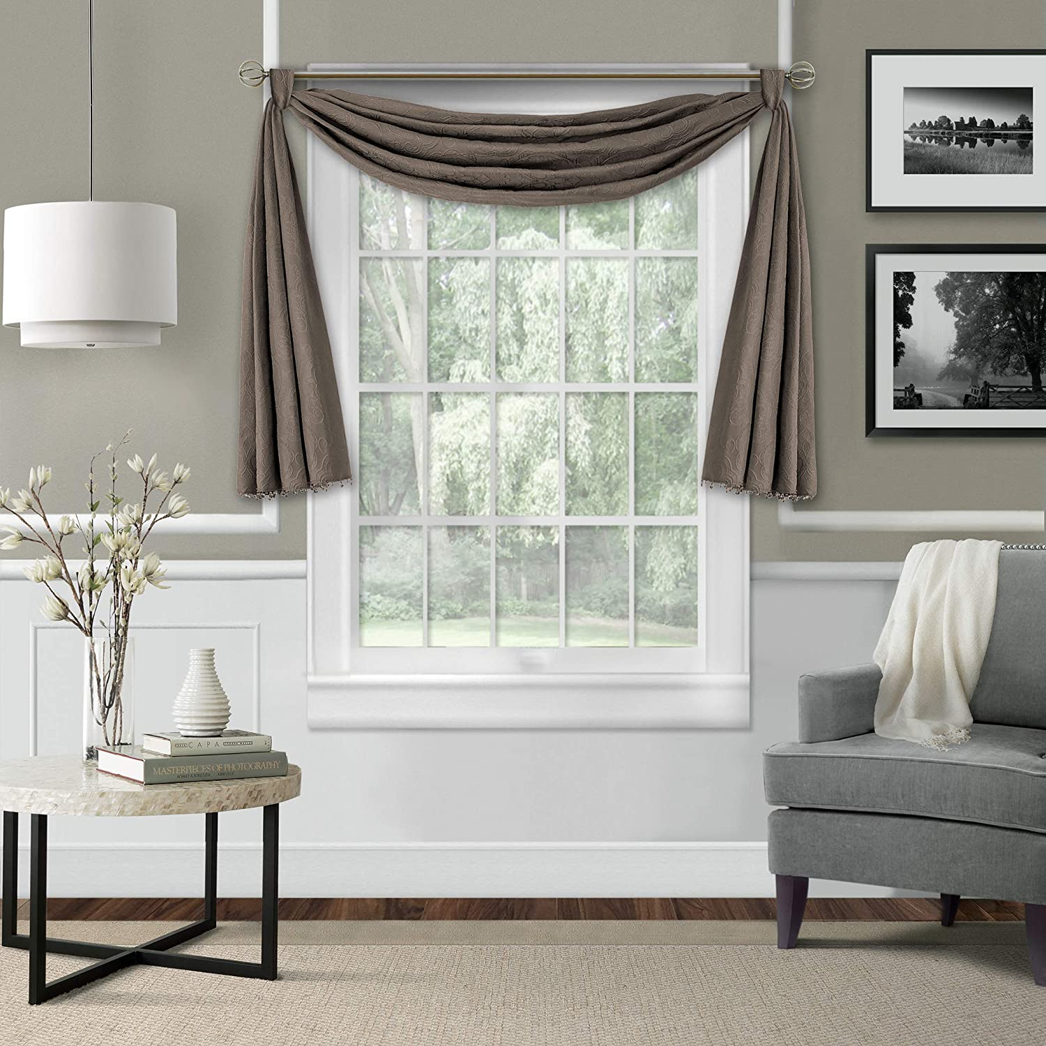 Elrene Home Fashions Leila Blackout Wind All items in the store Matelasse service Single