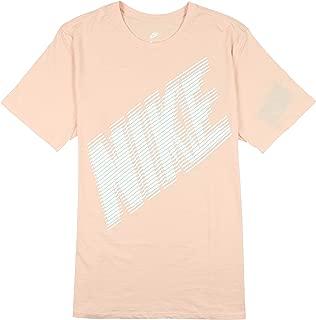 Nike Men's Block Logo T-Shirt X-Large Light Pink