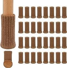 Ezprotekt 32 STKS Stoel Sokken Hoge Elastische Vloerbeschermers Niet Slip Stoel Voeten Sokken Covers Meubilair Caps Set, F...