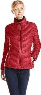 Women's Lightweight Chevron Quilted Packable Down Jacket