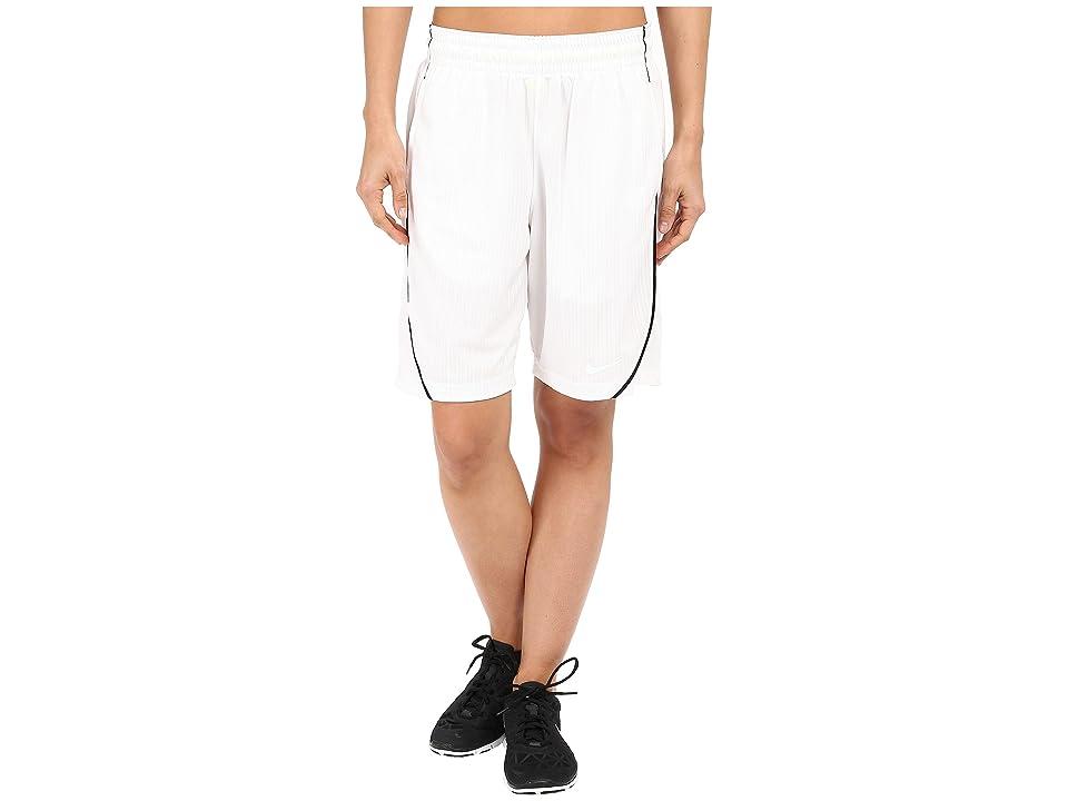 Nike Essential Basketball Short (White/Black/White) Women