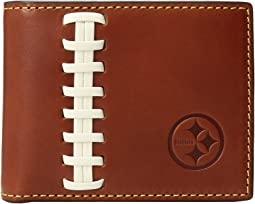 NFL Leather Wallets Credit Card Billfold