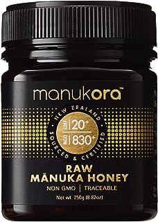 Sponsored Ad - Manukora UMF 20+/MGO 830+ Raw Mānuka Honey (250g/8.8oz) Authentic Non-GMO New Zealand Honey, UMF & MGO Cert...