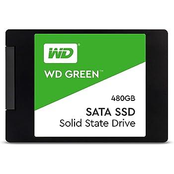 "Western Digital WDS480G2G0A Disco SSD Interno, SATA III, 480 GB, 2.5"", Color Negro"