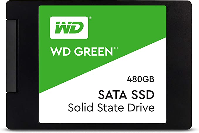 """WD Green 480GB Internal PC SSD - SATA III 6 Gb/s, 2.5""""/7mm - WDS480G2G0A : Buy Online at Best Price in KSA - Souq is now Amazon.sa: Electronics"""