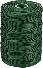 Floral Wire Vine Wire Bind Wire Rustic Wire Wrapping Wire for Flower Bouquets (Dark Green, 673 Feet)
