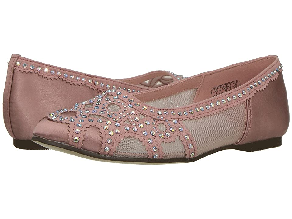 Badgley Mischka Kids Gigi Gems (Little Kid/Big Kid) (Rose Gold Pink) Girls Shoes